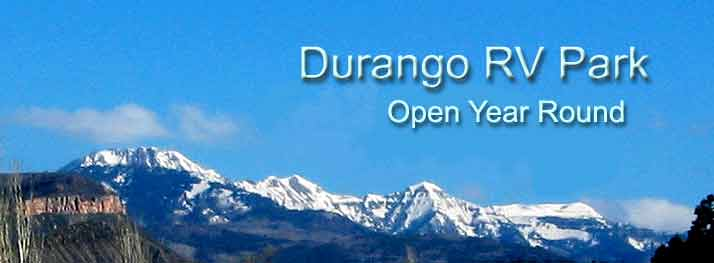 Durango RV Park gorgeous view